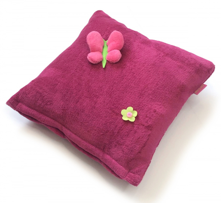 polštářek Dark Pink Meadow