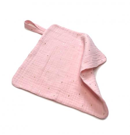 žínka  Pinkie Muslin Light Pink
