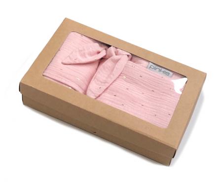 dárkový set Muslin Light Pink