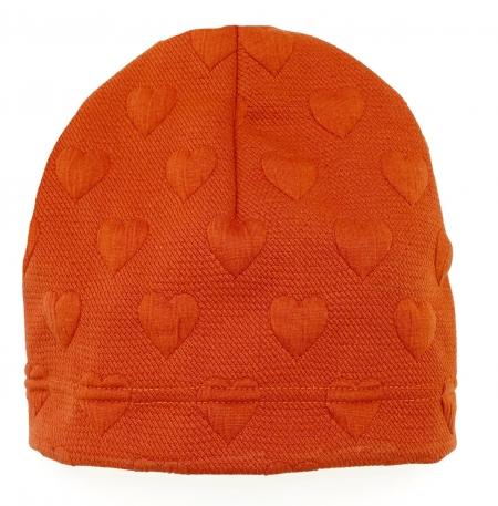 čepička Orange Heart
