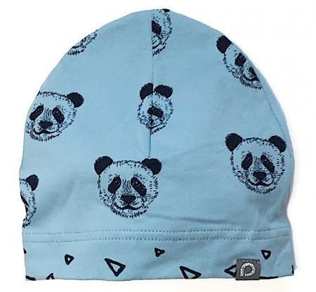 čepička Panda Blue