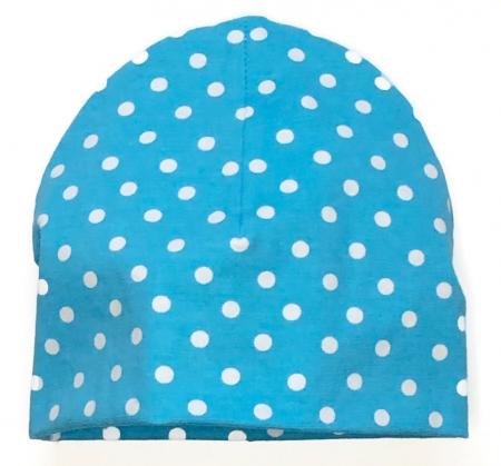 čepička Turquoise Dots