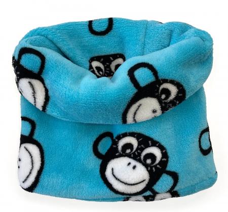 nákrčník Monkey Turquoise