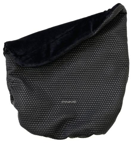 zateplená stahovací deka Black Comb