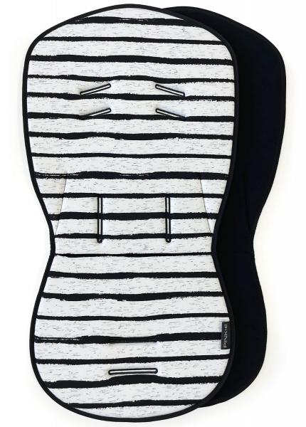 podložka Pinkie Stripe White