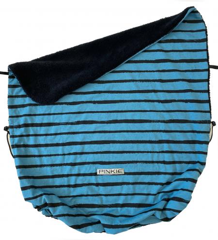 deka se stahováním Pinkie Stripe Blue