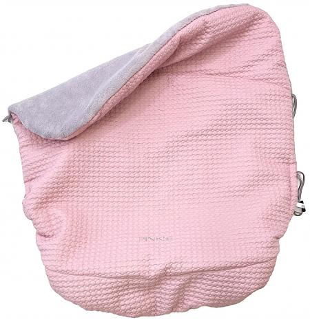 zateplená stahovací deka Small Pink Comb