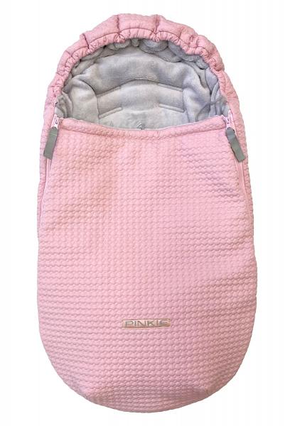 zimní fusak Small Pink Comb 0-12měs.