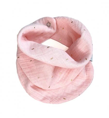 šátek Muslin Pink