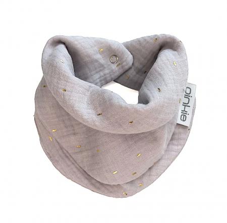 šátek Muslin Grey