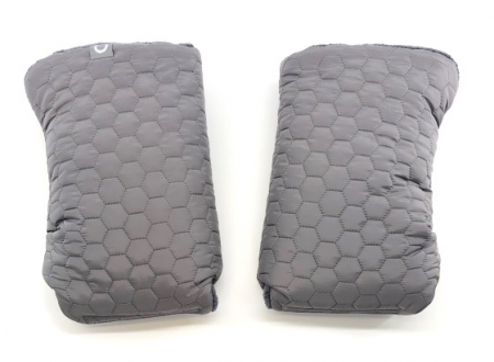 rukavice na kočárek Big Comb Grey