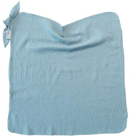 letní deka Pinkie Muslin Ocean Blue