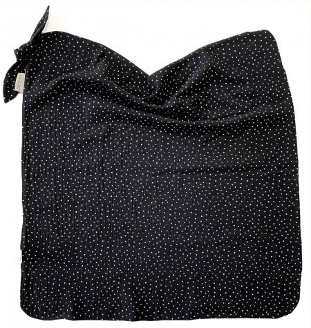 letní deka Pinkie Muslin Black