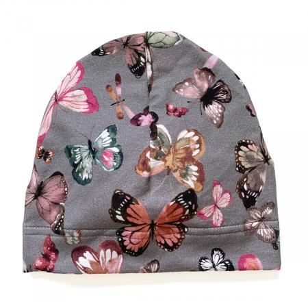 čepička Butterfly Grey BIO