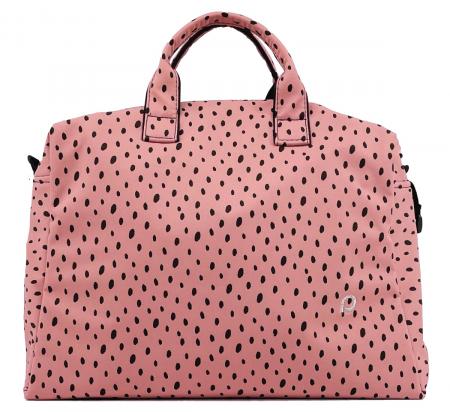 kabela na kočárek Softshell Dots Pink M