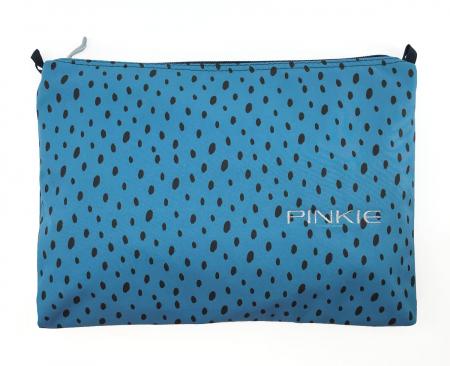 univerzální taštička Softshell Dots Blue