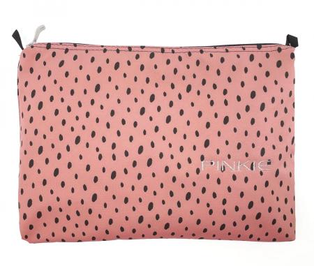 univerzální taštička Softshell Dots Pink
