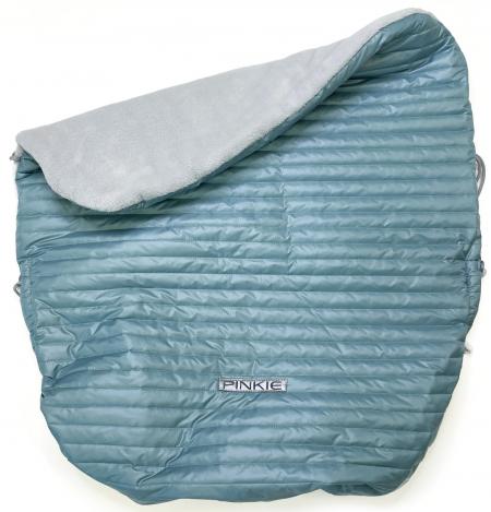 zateplená stahovací deka Ocean Blue