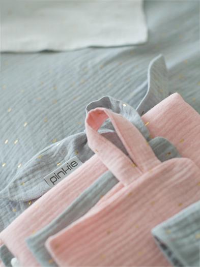 set Muslin Light Pink velký