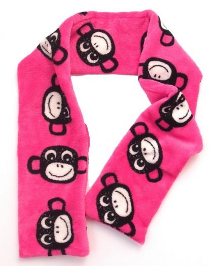 šála Monkey Pink