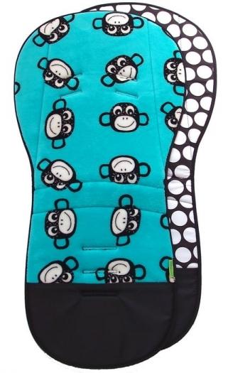prodloužená podložka Monkey Turquoise