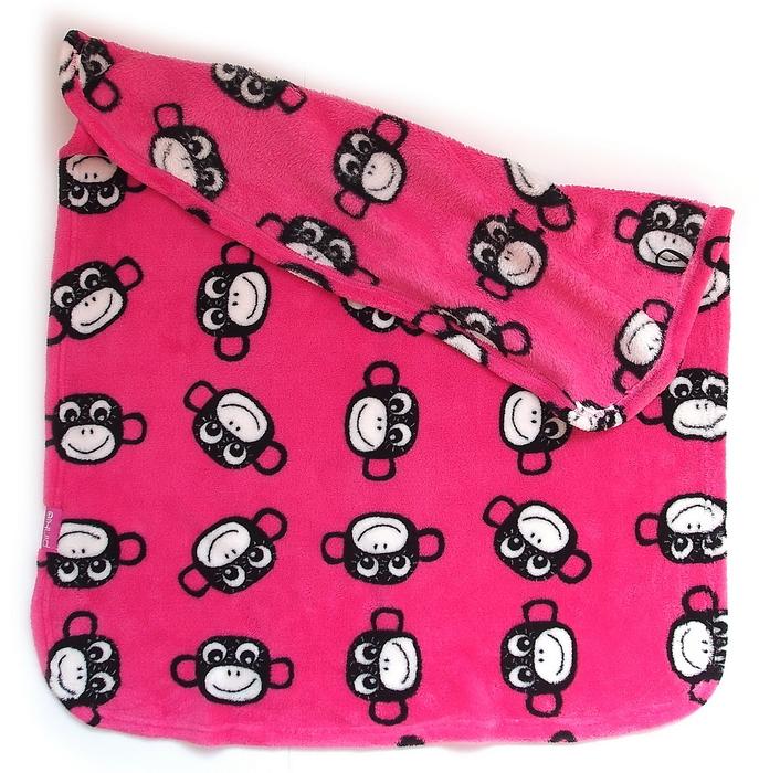 kliknutít zobrazíte maximální velikost obrázku deka Pinkie Monkey Pink