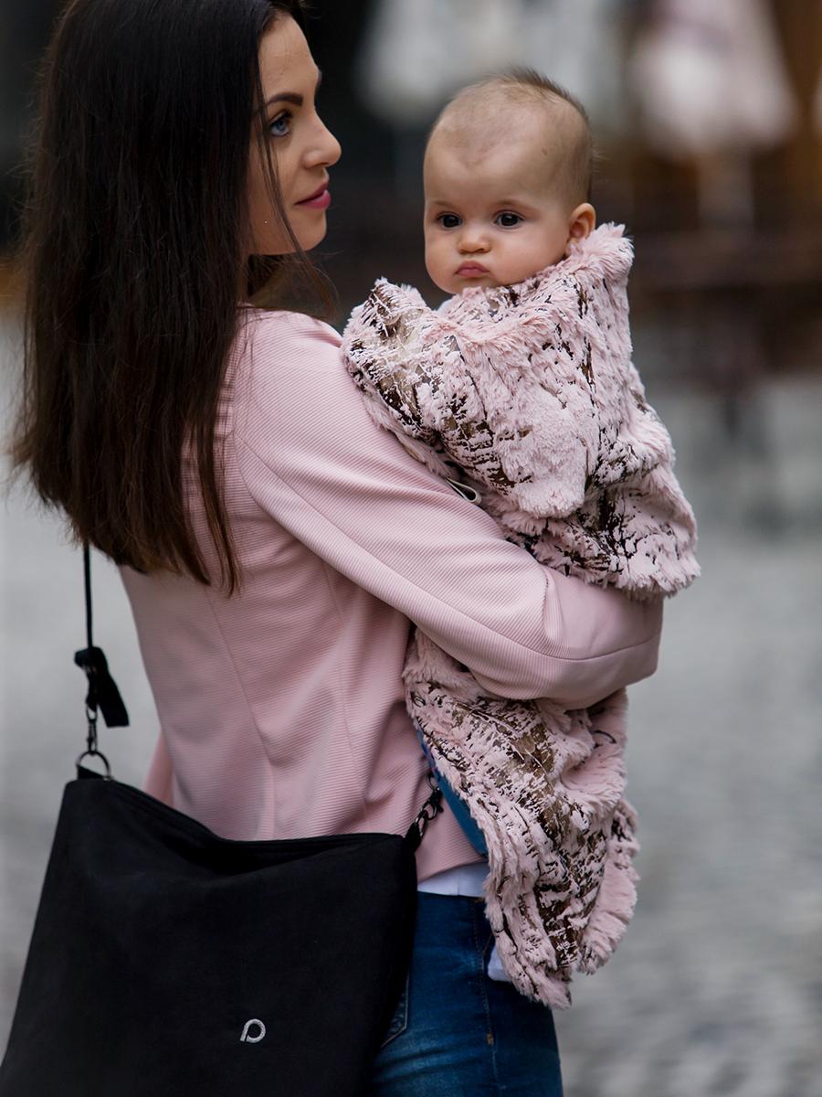 kliknutít zobrazíte maximální velikost obrázku deka se stahováním Fur Gold Pink