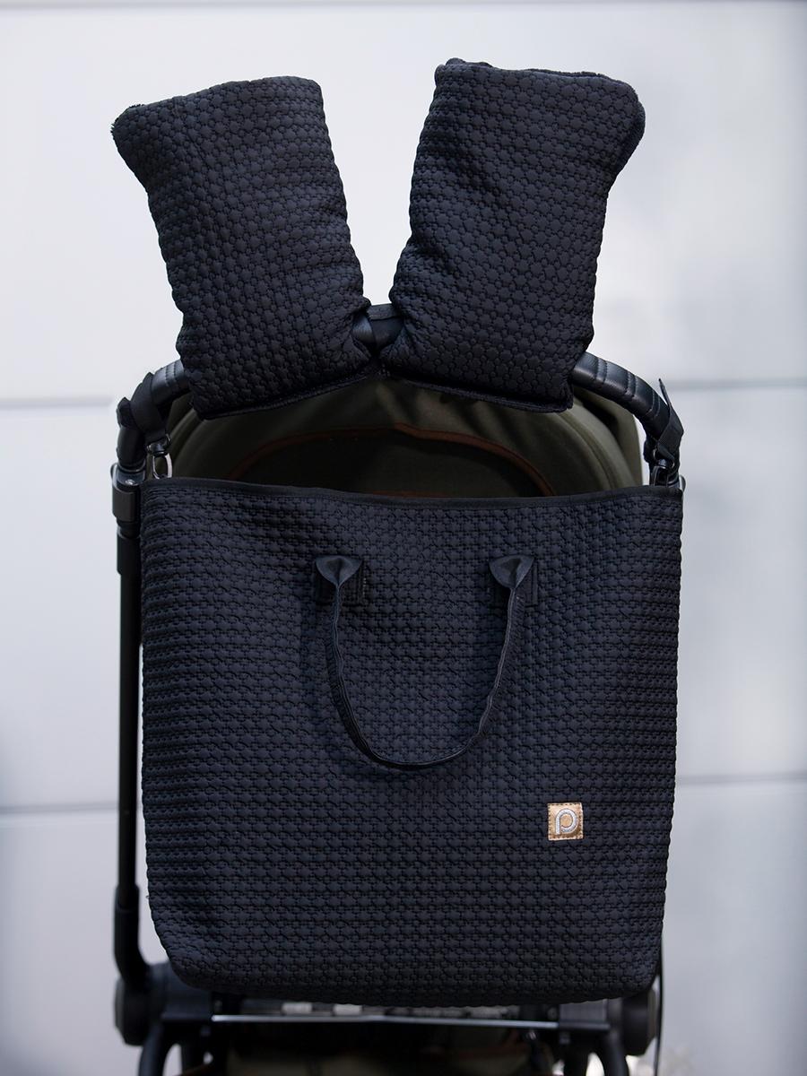 kliknutít zobrazíte maximální velikost obrázku rukavice na kočárek Small Black Comb