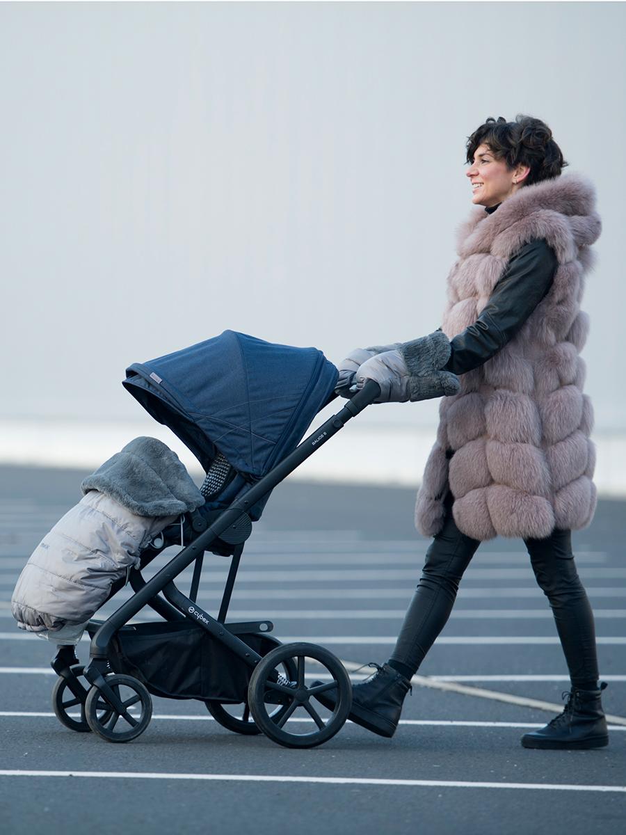 kliknutít zobrazíte maximální velikost obrázku zateplená stahovací deka Pinkie Fur Grey