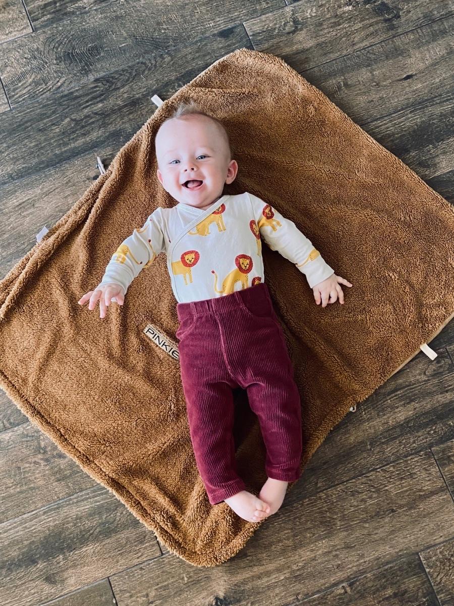 kliknutít zobrazíte maximální velikost obrázku deka se stahováním Pinkie Soft Pink