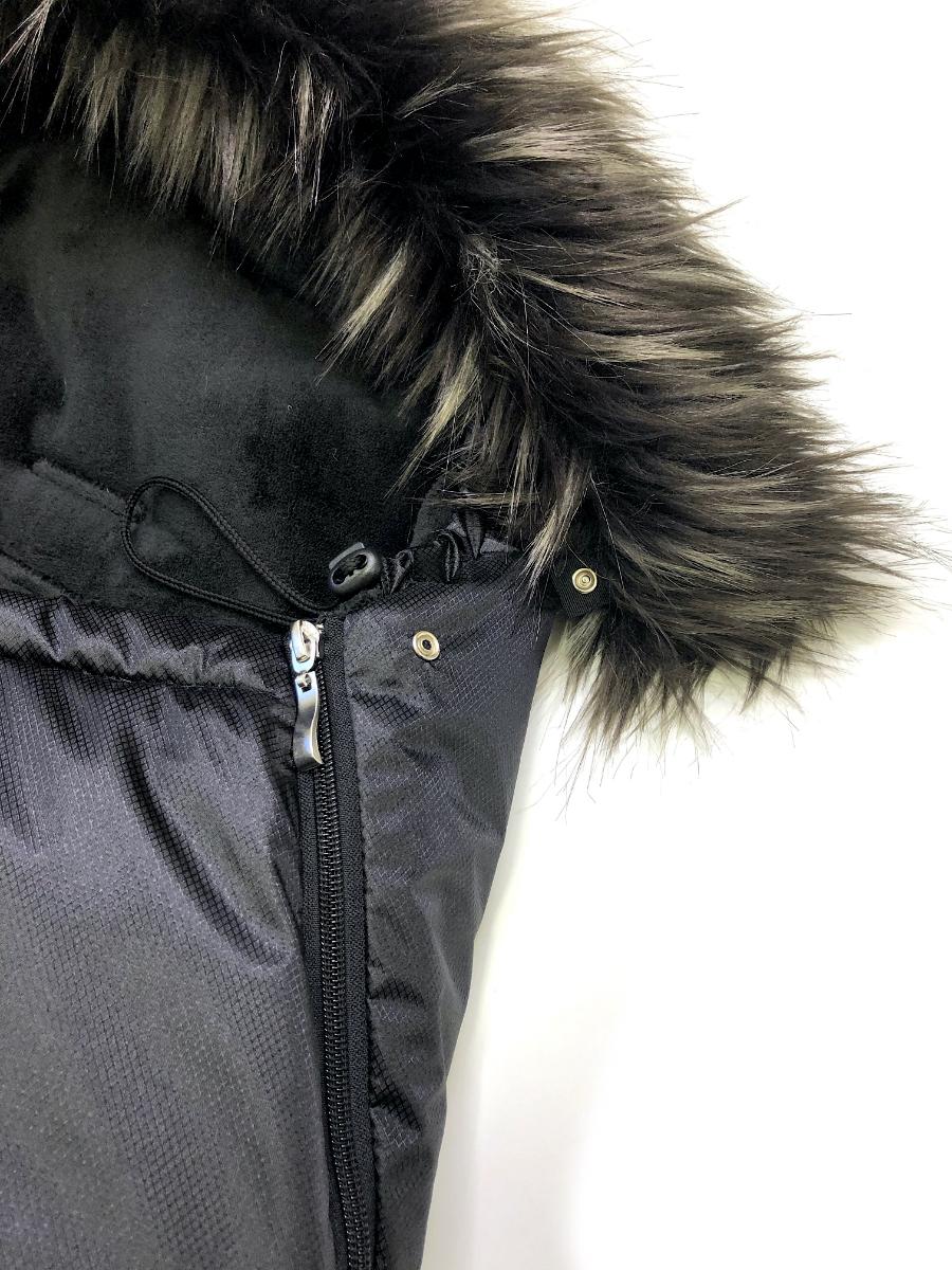 kliknutít zobrazíte maximální velikost obrázku fusak Pinkie Plain Black s kožíškem