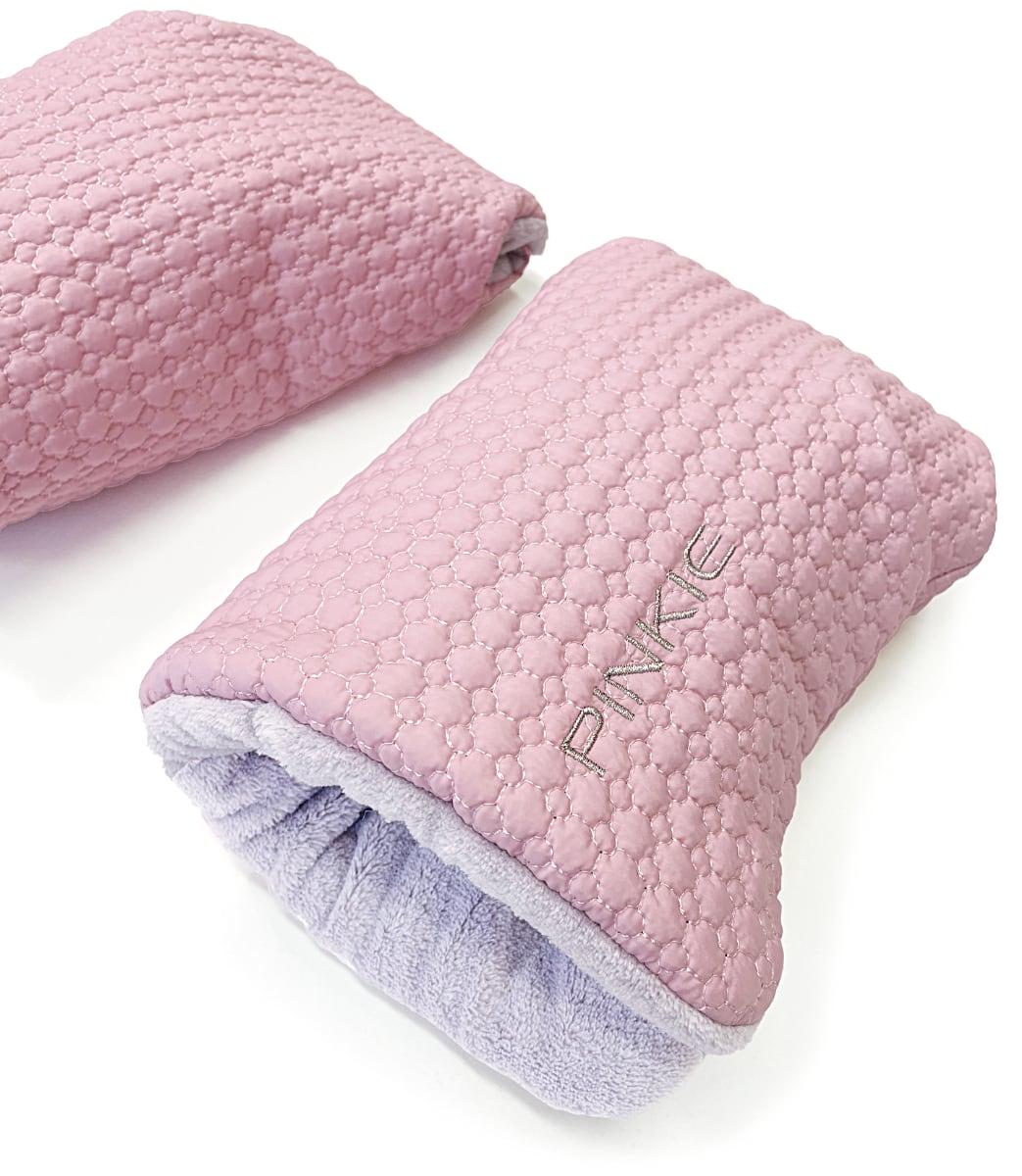kliknutít zobrazíte maximální velikost obrázku rukavice na kočárek Small Pink Comb