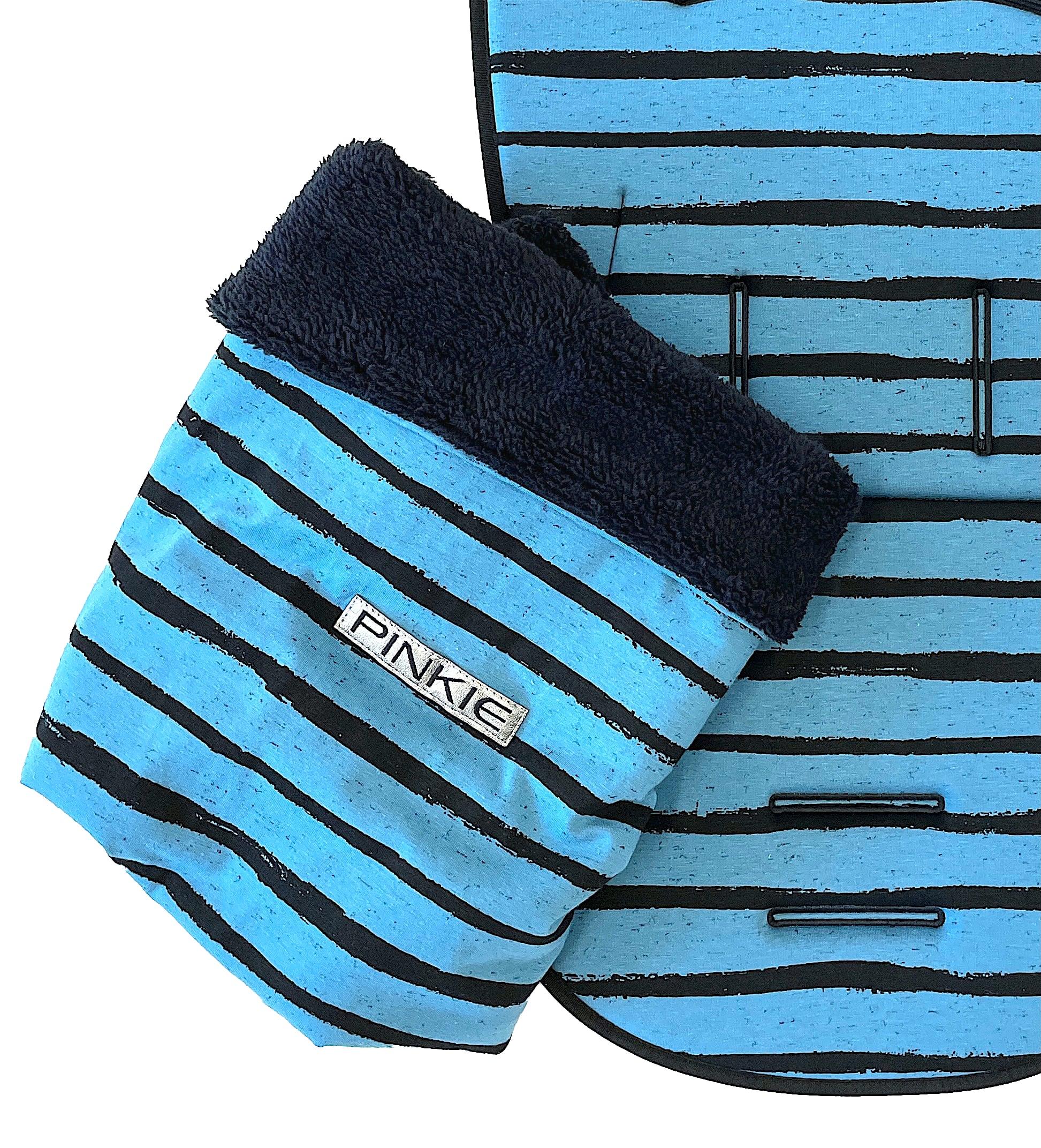 kliknutít zobrazíte maximální velikost obrázku deka se stahováním Pinkie Stripe Blue