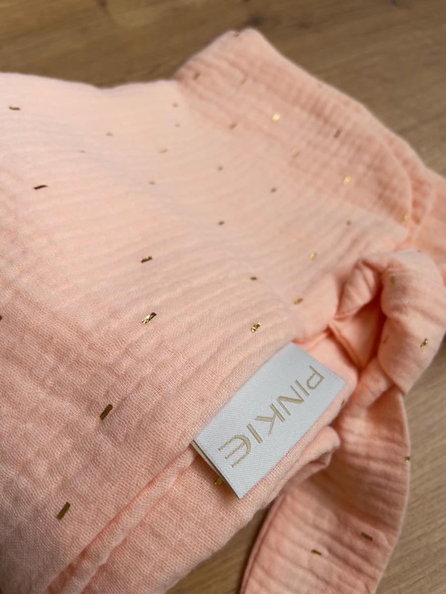 kliknutít zobrazíte maximální velikost obrázku letní deka Pinkie Muslin Apriccot