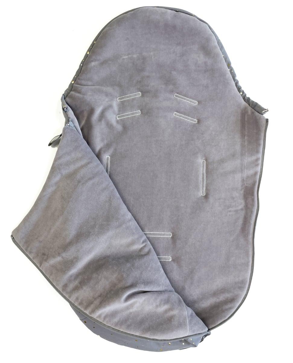 kliknutít zobrazíte maximální velikost obrázku fusak Shine Gold Grey 0-12měsíců