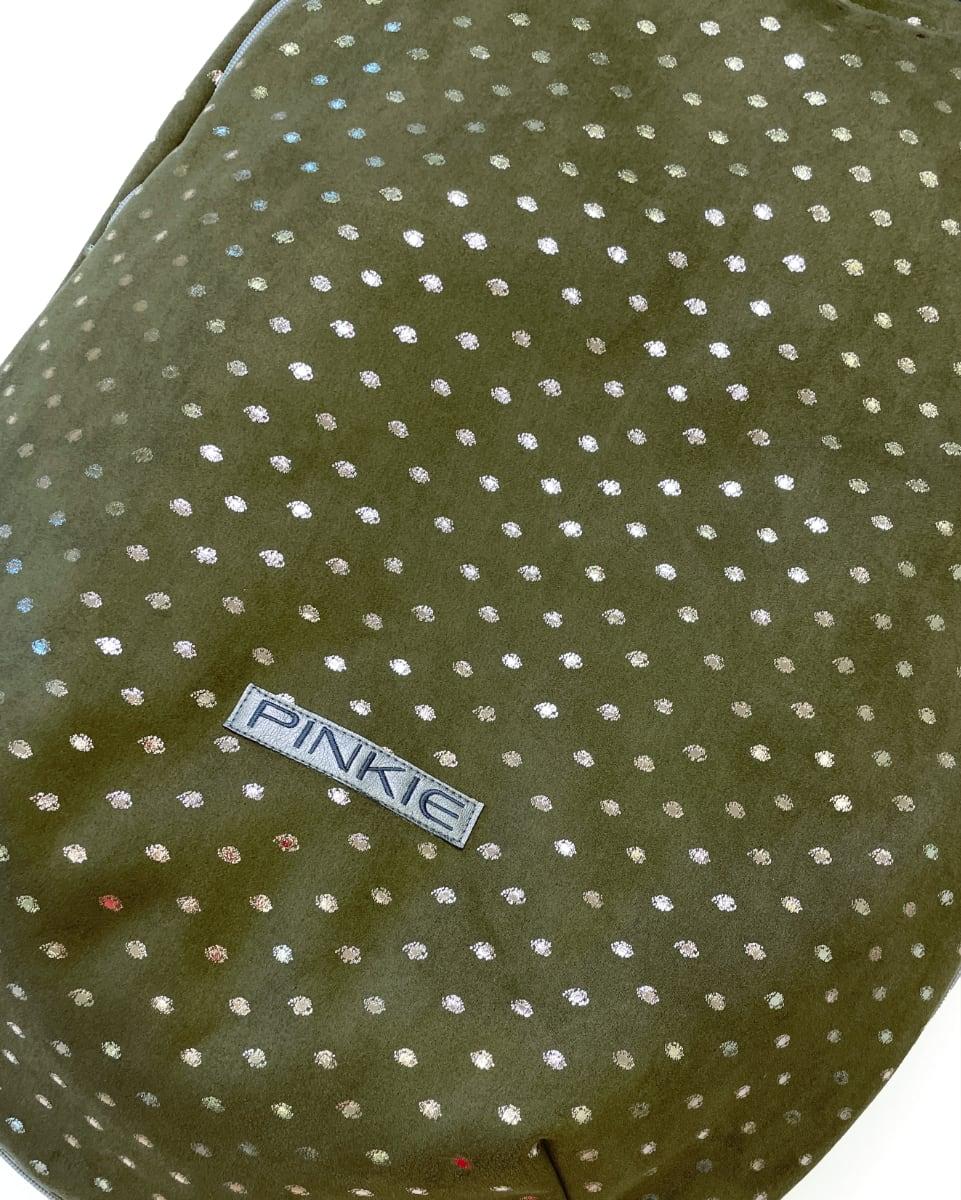 kliknutít zobrazíte maximální velikost obrázku fusak Pinkie Suede Green-slabší
