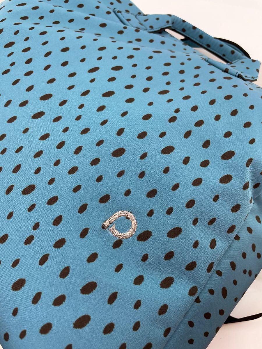 kliknutít zobrazíte maximální velikost obrázku kabela na kočárek Softshell Dots Blue M