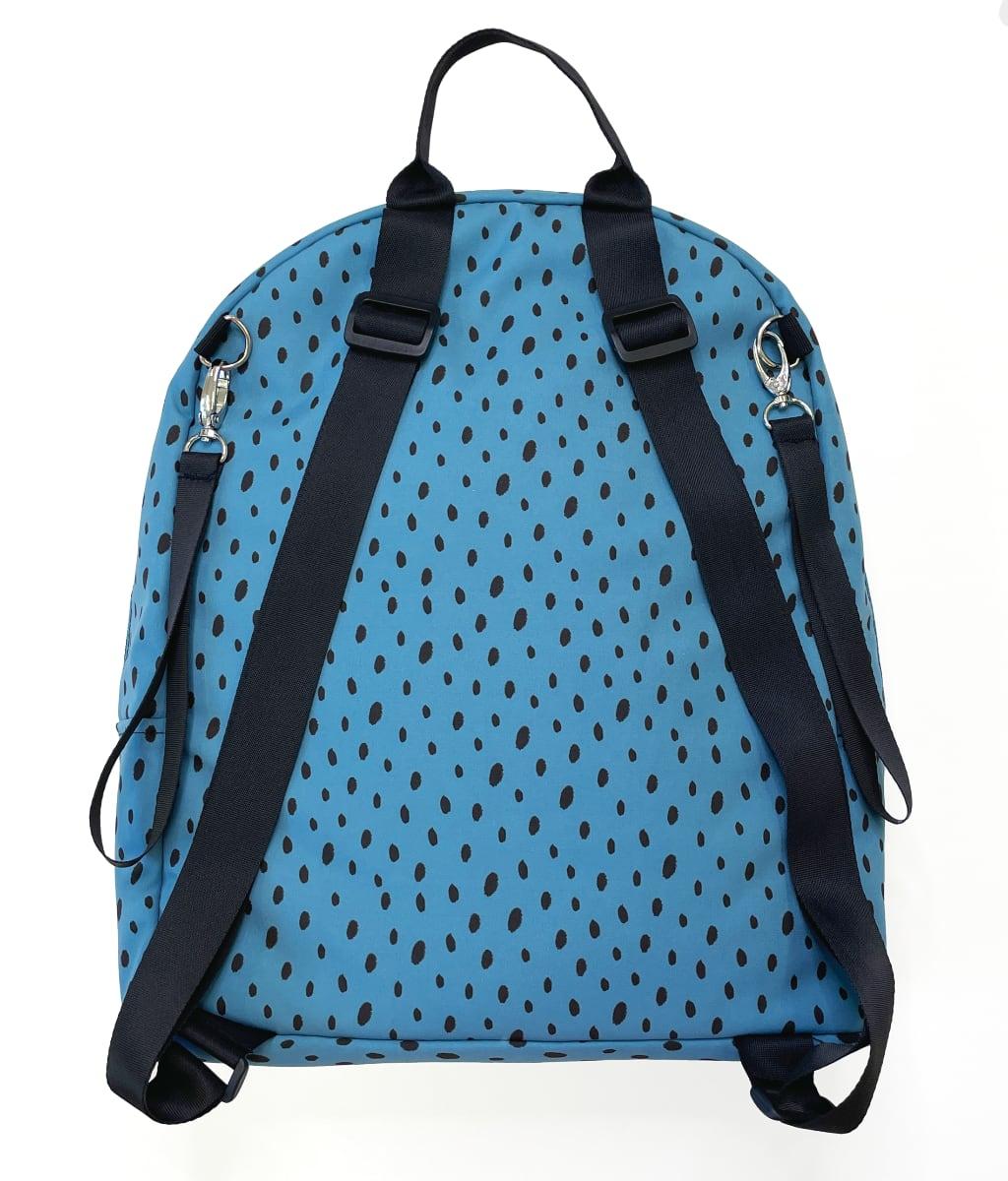 kliknutít zobrazíte maximální velikost obrázku batoh Bugee Softshell Dots Blue