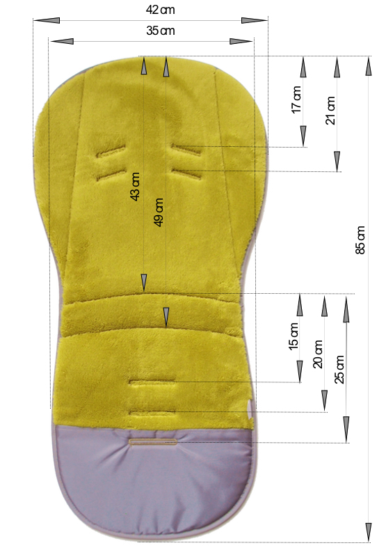 kliknutít zobrazíte maximální velikost obrázku prodloužená podložka Small Grey Comb